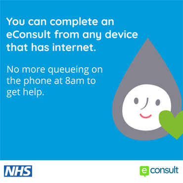 You can complete an eConsult from any device that has internet.